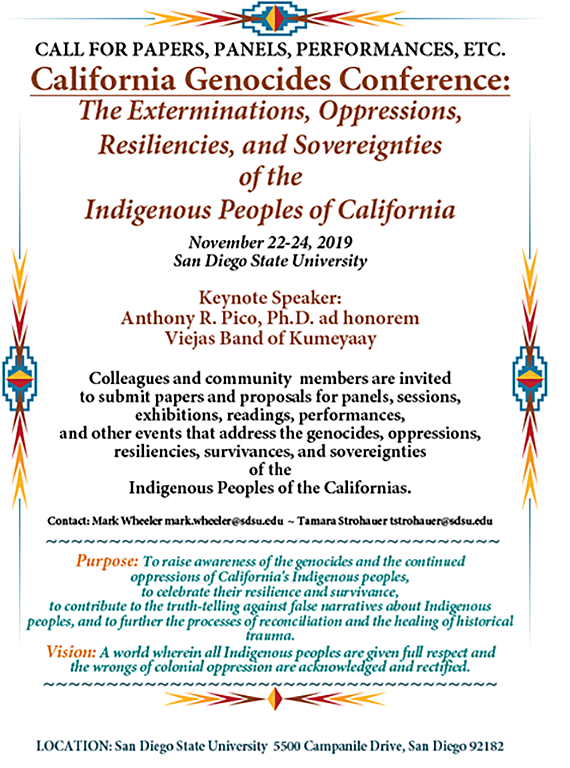 cfp california genocides conf